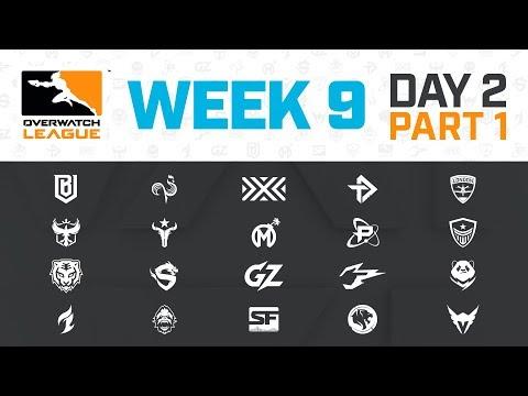 Overwatch League 2020 Season | Week 9 Day 2 | Part 1