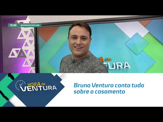 Bruno Ventura conta tudo sobre o casamento de Mano Walter e Débora Silva - Bloco 01