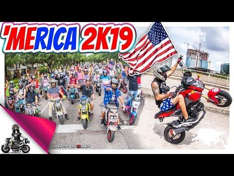 2019 Honda Grom Merica Group Ride