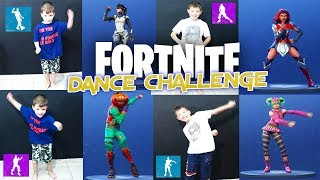 Dance Battle Royale Fortnite Challenge George Vs Marios Who is the best Real Life Season 4