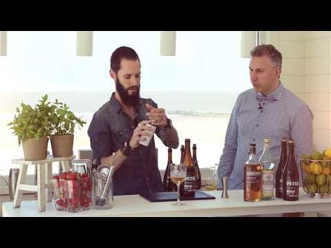 Bier - whisky cocktail maken met Thomas Van De Weyer.