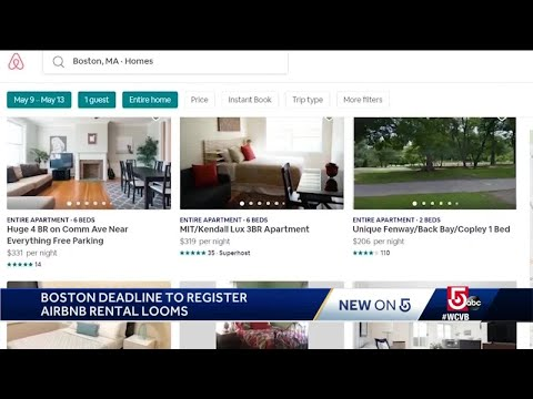 Deadline Looms To Register Airbnb Rentals In Boston