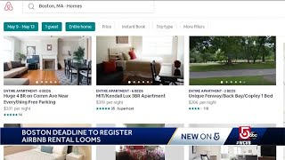 Gambar cover Deadline looms to register Airbnb rentals in Boston