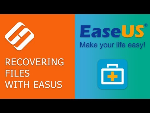 How to Recover Files From an External Hard Disk With EaseUS Data Recovery Wizard 📁🔥⚕️