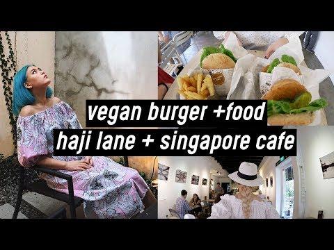 Singapore #2: Vegan Burger + Food, Singapore Cafe, Haji Lane, Marina Bay Sands | DTV #51