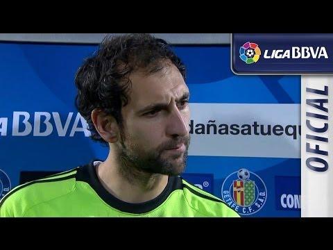 Entrevista a Diego López tras el Getafe CF (0-3) Real Madrid - HD