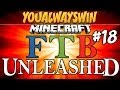 Minecraft: Feed the Beast Unleashed | Ep.18, Dumb and Dumber