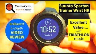 Suunto Spartan Trainer Wrist HR Video Review - The Best Value for Money Triathlon Watch of 2018
