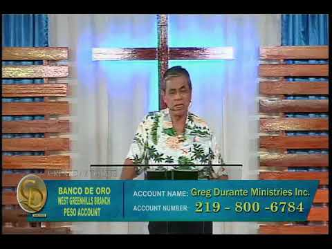 Total dependence on God our stability (Tagalog)