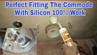 WallHung Commode fitting || Silicone Joint ||   || Plumbing work ||