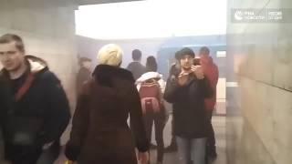Взрыв в метро Санкт-Петербурга. Видео РИА Новости