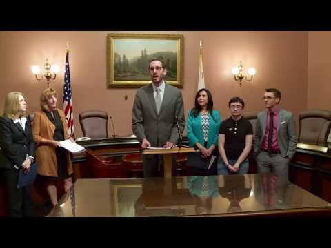 Senator Wiener Press Conference on Youth Homelessness