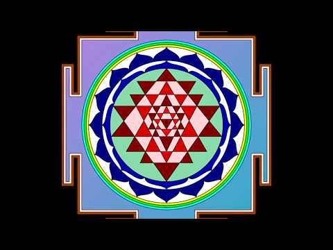 Sri Yantra Micro-Meditation with Bell Chime