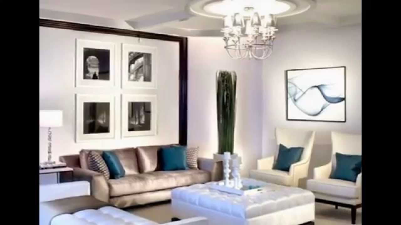id es de d coration pour un salon luxueux youtube. Black Bedroom Furniture Sets. Home Design Ideas