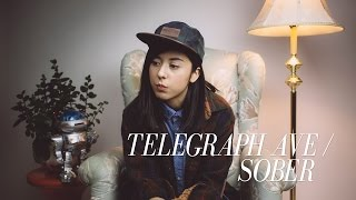 childish gambino telegraph ave sober cover by daniela andrade