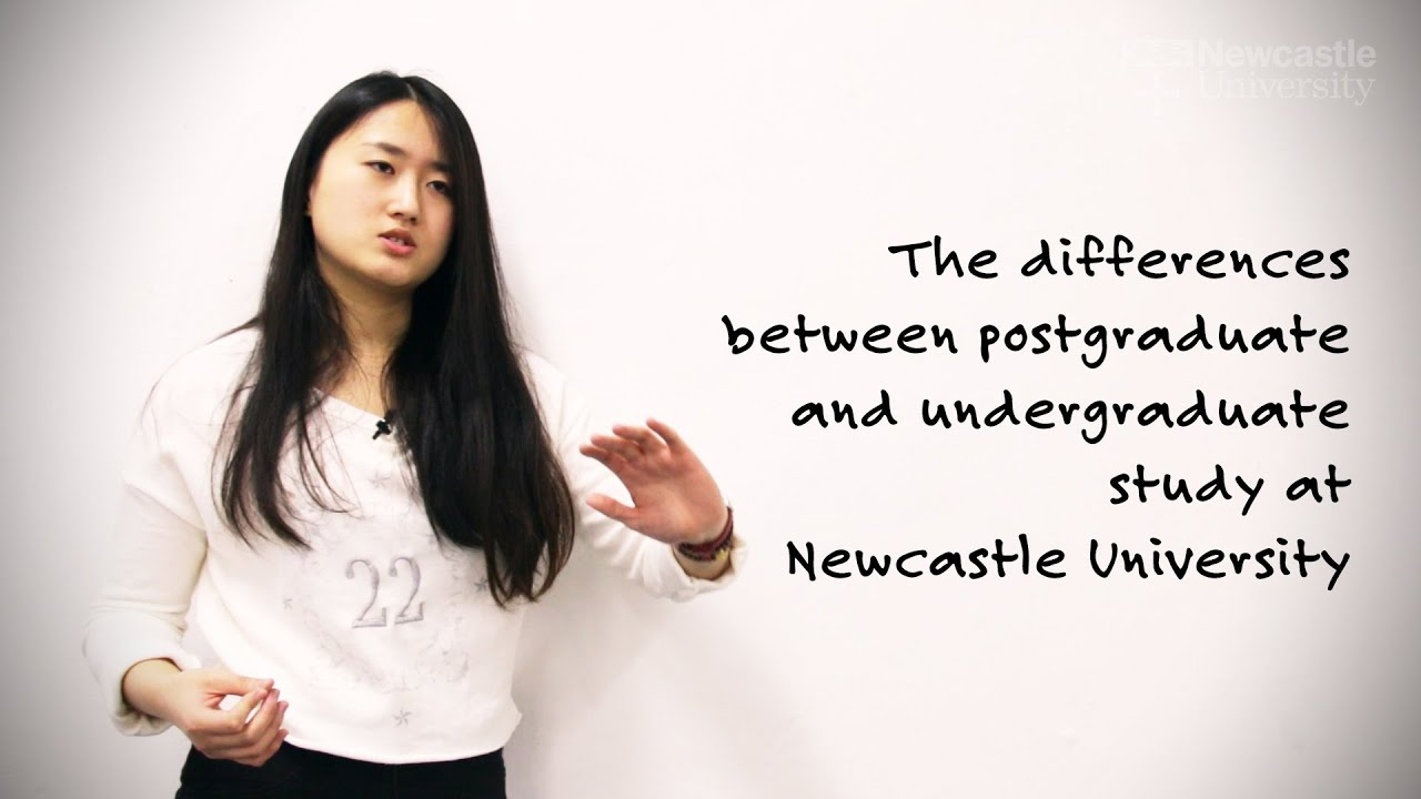 What are the difference between undergraduate and post graduate ?