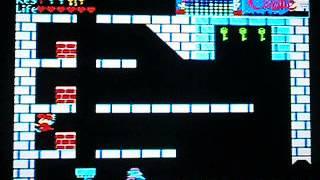 MSX ザキャッスル 無敵