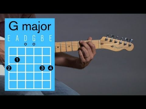 How to Play a G Major Open Chord | Guitar Lessons - YouTube