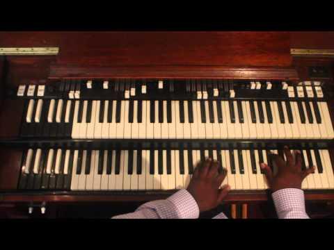 Quennel Gaskin Ministries Organ Master Class  House Raising Chords