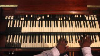 Quennel Gaskin Ministries Organ Master Class - House Raising Chords