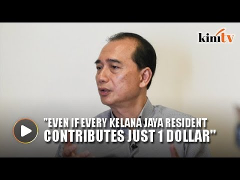 Independent candidate investing in his own campaign for GE14