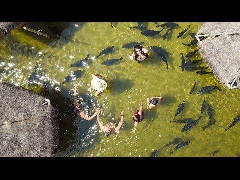 Um Drone na Lagoa dos Tambaquis, Estância, Sergipe, Brasil