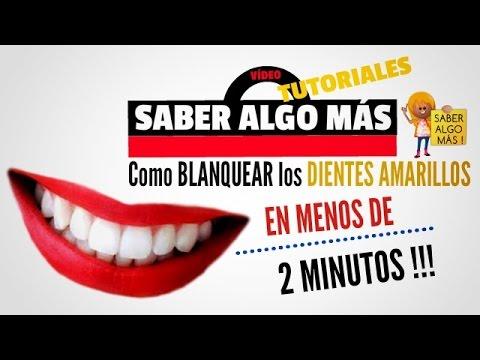 Como blanquear los dientes amarillos en casa rapido de forma natural y efectiva youtube - Como blanquear los dientes en casa ...