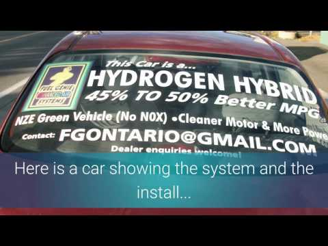FGS HHO/HOD Kits What is the best hybrid car? Hydrogen Cars! One with a HHO generator