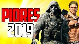 TOP 5 - PIORES JOGOS DE 2019