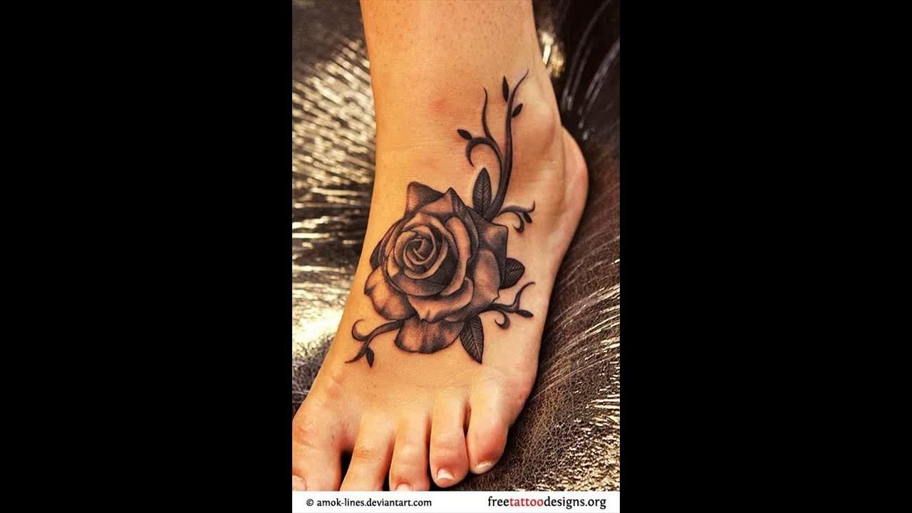 10 Foot Rose Tattoo Designs Pretty Designs Youtube