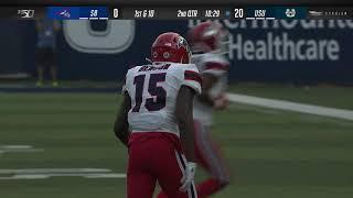 CAA Football Week 2 Highlights: Stony Brook 7, Utah State 62