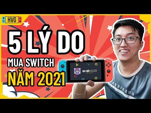 5 lý do nên mua Nintendo Switch trong năm 2021