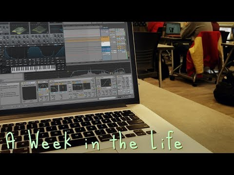 A Week In The Life Of A Music Producer In College