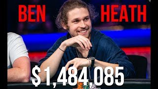 Ben Heath won $1,484,085 in the WSOP 50th Annual $50,000 High Roller!