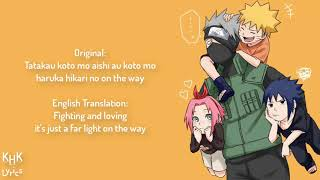 Soundtrack Opening Naruto 1st Song by: