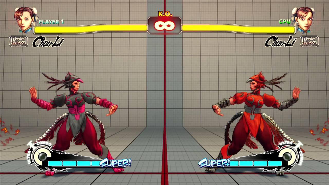 Ultra Street Fighter Iv Chun Li Wild Costume Colours Youtube