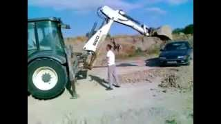 This is why you don't anger a guy with an excavator