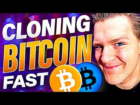 CLONING BITCOIN IN 15 MINUTES!! [VERY EASY] Blockchain Programming FAST