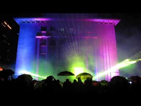 """Vkluchi grada"" Festival - Light, Lasers, 3D Mapping & Sound"