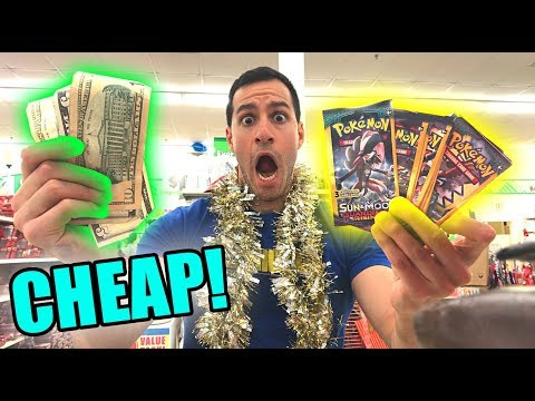 DOLLAR TREE SAVED THE DAY! - Searching For Cheap Pokemon Cards at Target! BUDGET BATTLE 2