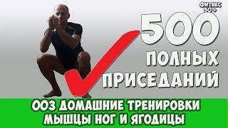 003 ДОМАШНИЕ ТРЕНИРОВКИ 500 ПРИСЕДАНИЙ