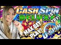 💲💵CASH SPIN DELUXE BY BALLY FIRST ATTEMPT ON MAX BET!💵💲