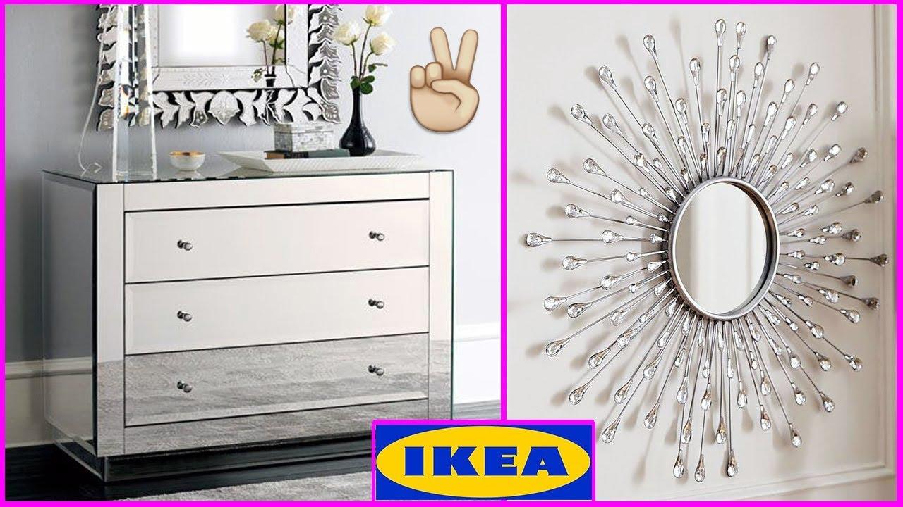 TOP 5 Home Decor Ideas DIY Mirrored Furniture IKEA Hacks DIY