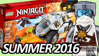 LEGO NINJAGO Titanium Ninja Tumbler (70588) 2016 Summer Set ALL Official Pictures  レゴ ニンジャゴー