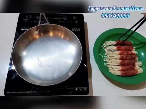 Món bò cuộn nấm kim chi