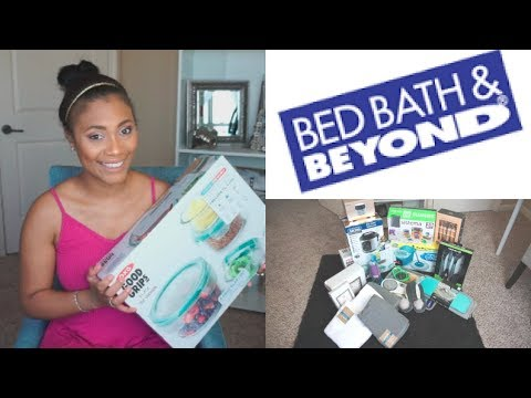 Haul| HUGE Bed Bath and Beyond Haul