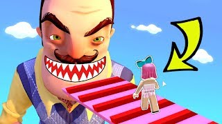 Roblox: *INSANE* ESCAPE HELLO NEIGHBOR OBBY!!!