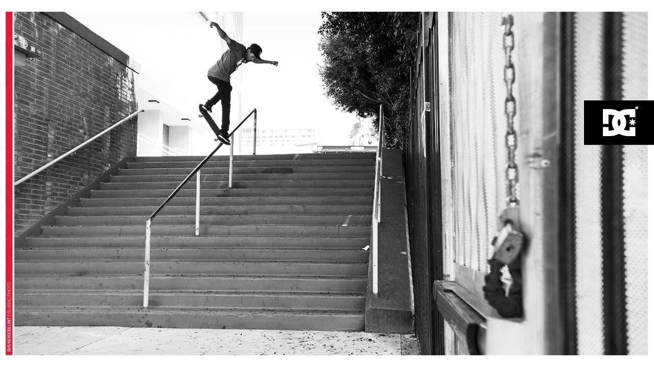 DC SHOES: NYJAH HUSTON SIGNATURE SHOE - WITH IMPACT G TECHNOLOGY