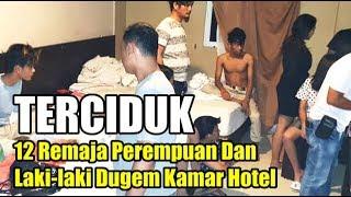 DUGEM dan Diduga Nyabu di Kamar Hotel, 12 Remaja Perempuan & Laki-laki Diamankan Petugas
