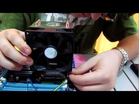 How To: Replacing a CPU Heatsink & Re-Applying Thermal Paste (Cleaning Methods Inside)